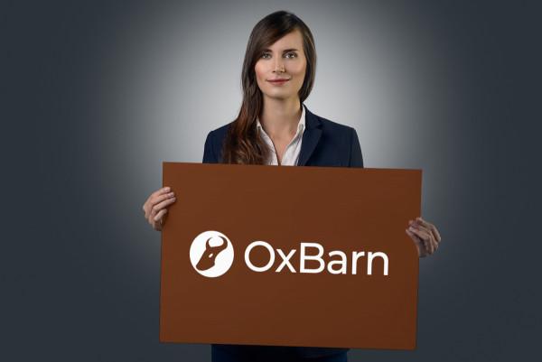 Sample branding #1 for Oxbarn