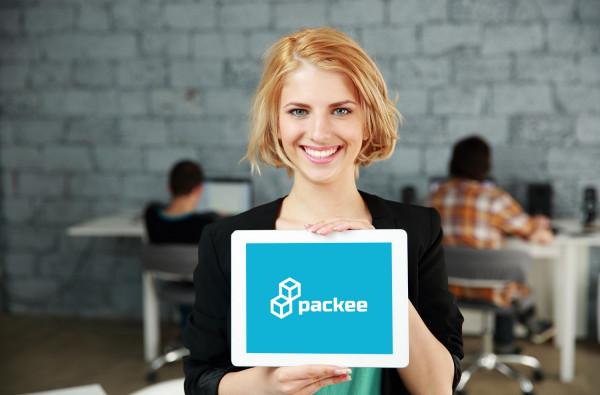 Sample branding #1 for Packee