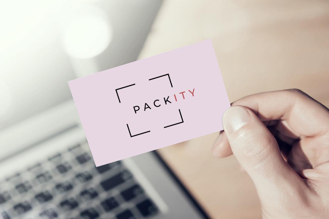 Sample branding #2 for Packity