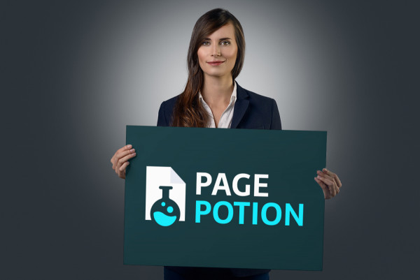 Sample branding #1 for Pagepotion