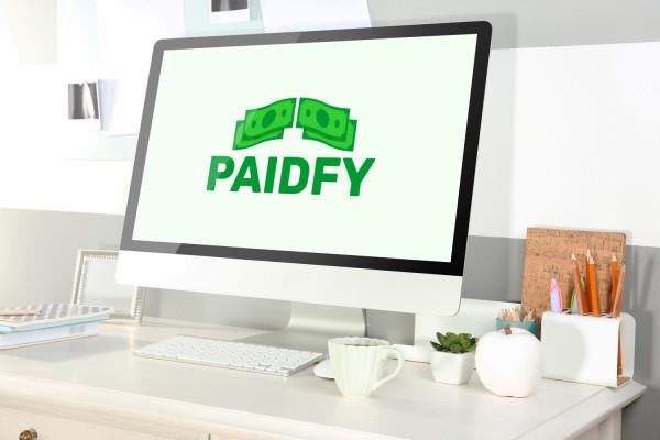 Sample branding #3 for Paidfy
