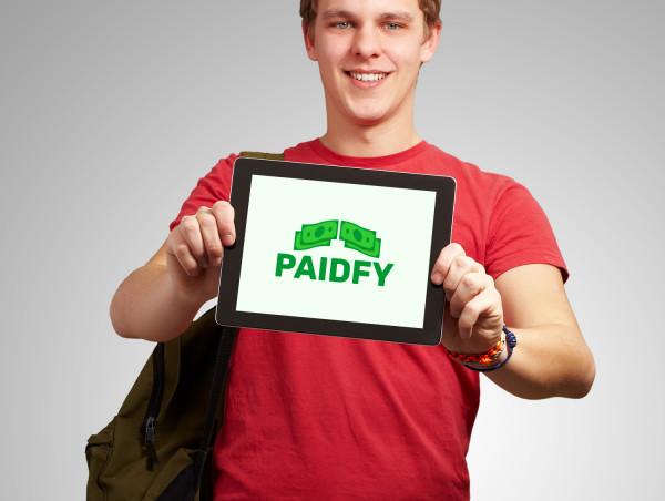 Sample branding #2 for Paidfy