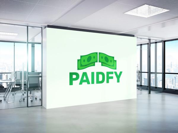 Sample branding #1 for Paidfy