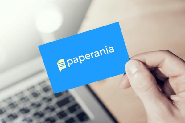 Sample branding #1 for Paperania