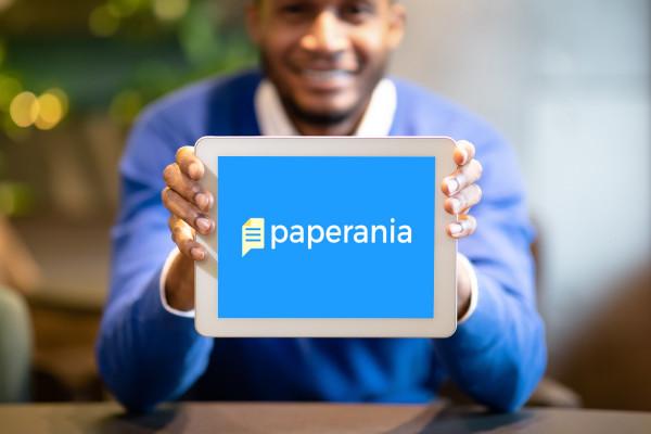 Sample branding #3 for Paperania