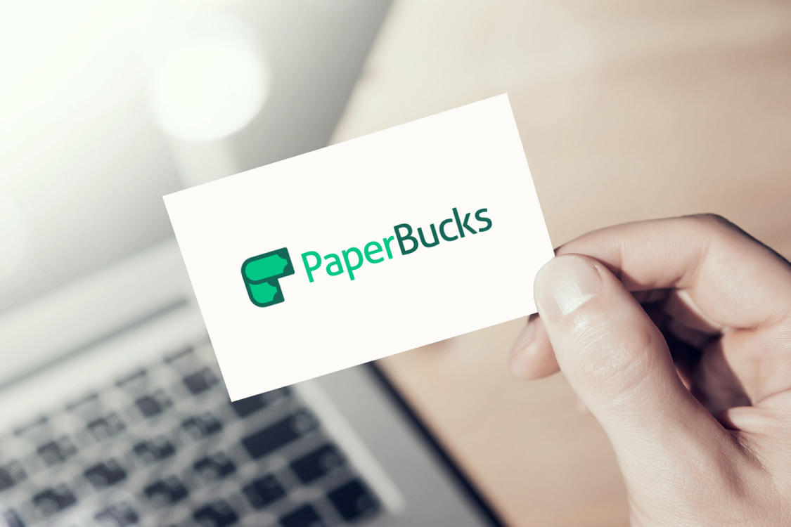 Sample branding #1 for Paperbucks
