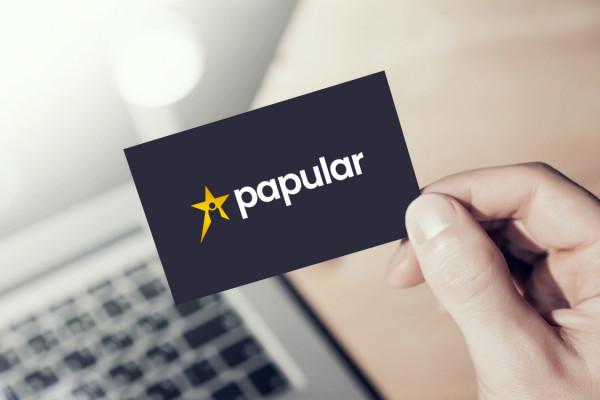 Sample branding #2 for Papular