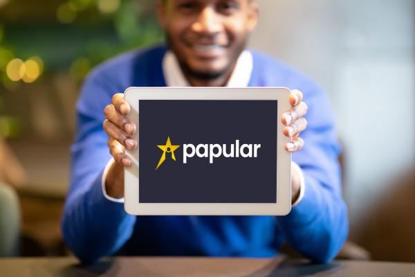 Sample branding #3 for Papular