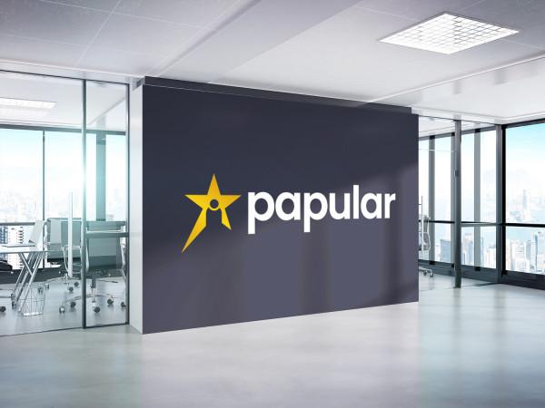 Sample branding #1 for Papular