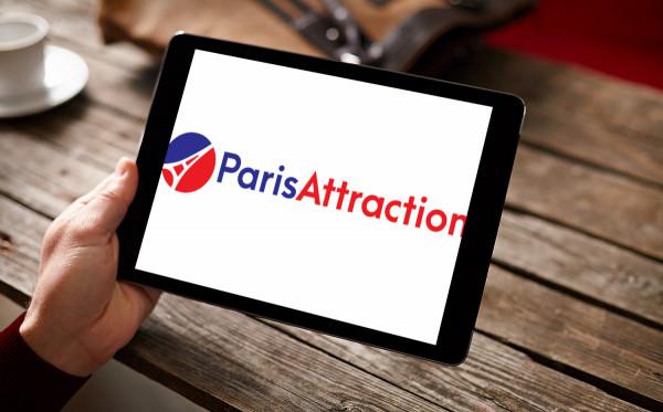 Sample branding #1 for Parisattraction