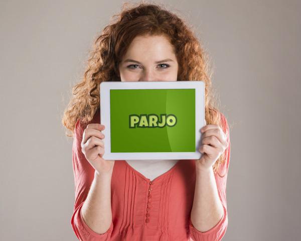 Sample branding #3 for Parjo