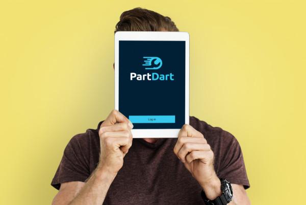 Sample branding #2 for Partdart