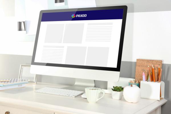 Sample branding #1 for Paxod