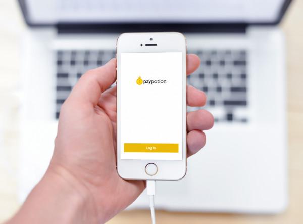 Sample branding #1 for Paypotion