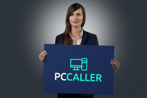 Sample branding #2 for Pccaller