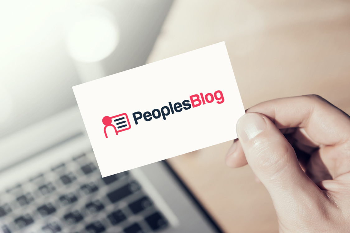 Sample branding #3 for Peoplesblog