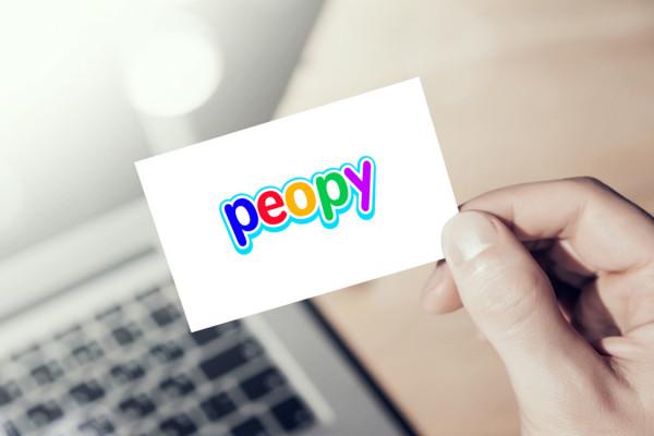 Sample branding #1 for Peopy