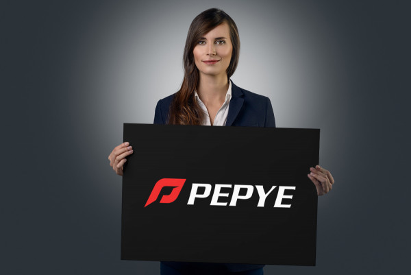 Sample branding #1 for Pepye