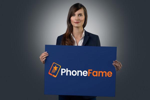 Sample branding #2 for Phonefame