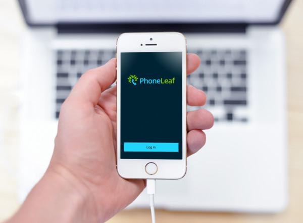Sample branding #3 for Phoneleaf