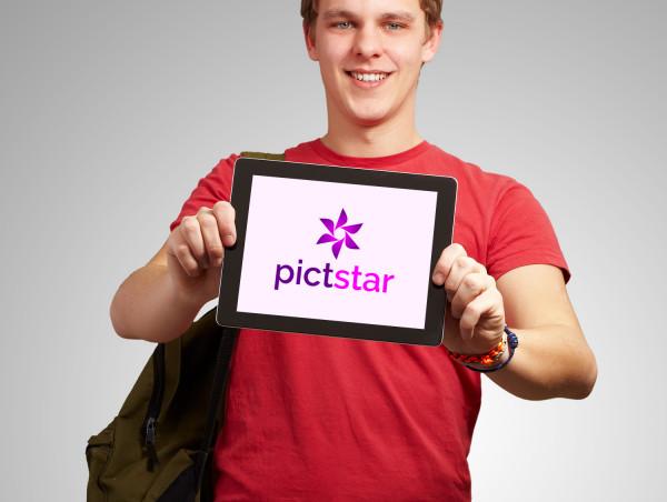 Sample branding #3 for Pictstar