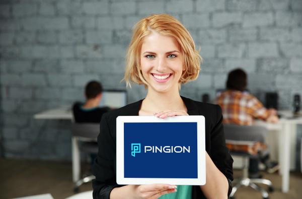 Sample branding #2 for Pingion