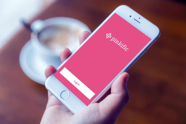 Sample branding #2 for Pinkific