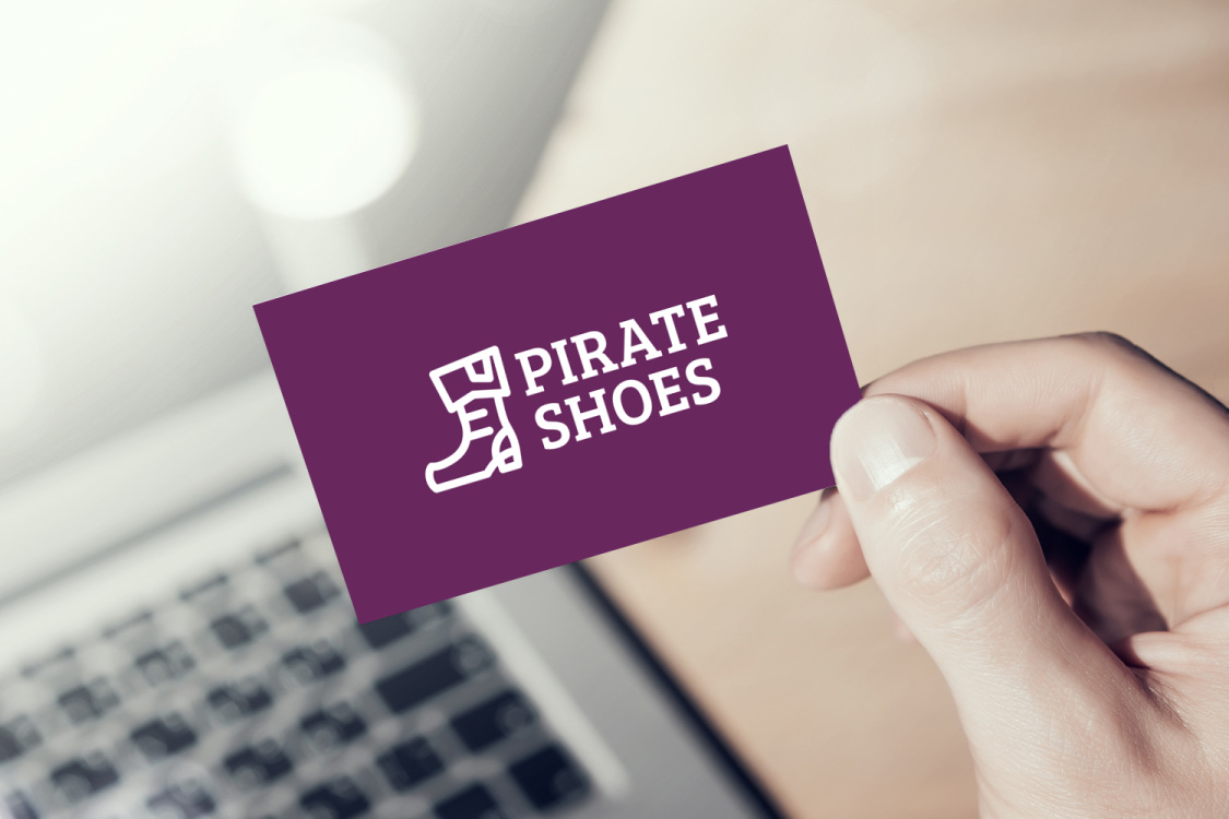 Sample branding #1 for Pirateshoes