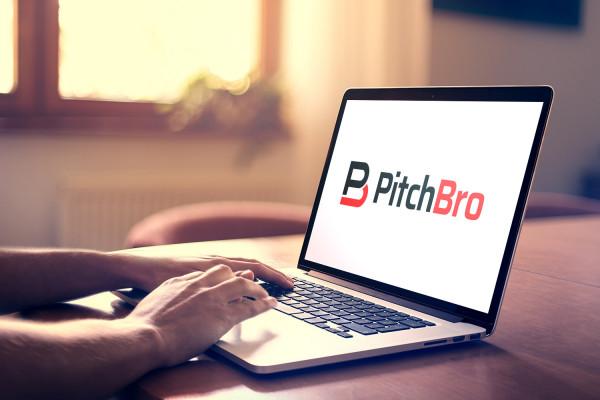 Sample branding #1 for Pitchbro