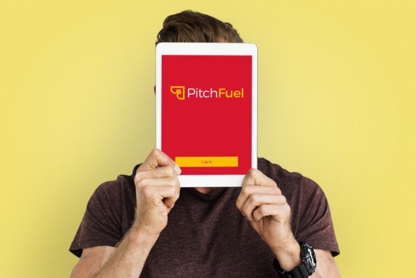 Sample branding #2 for Pitchfuel