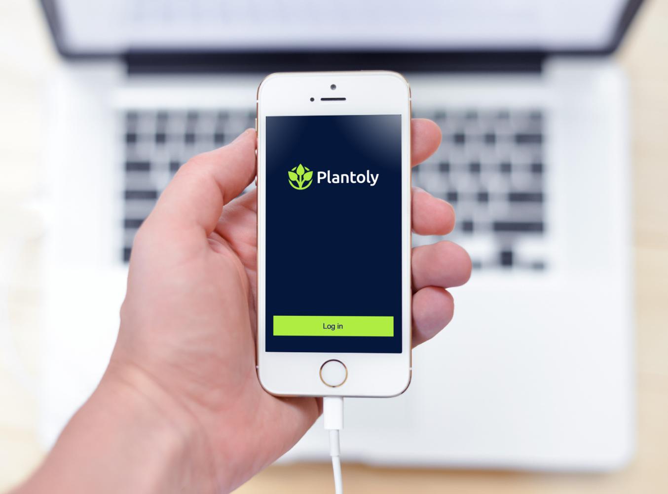 Sample branding #3 for Plantoly