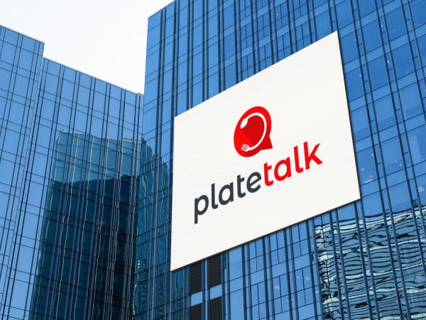 Sample branding #2 for Platetalk