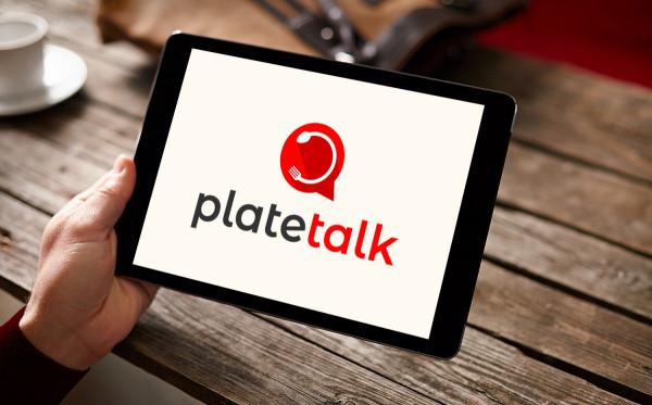 Sample branding #3 for Platetalk