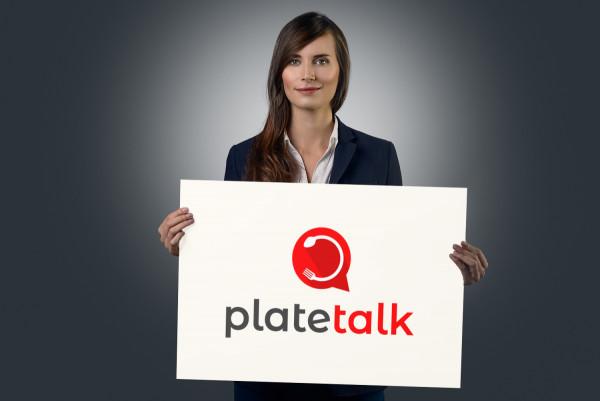 Sample branding #1 for Platetalk
