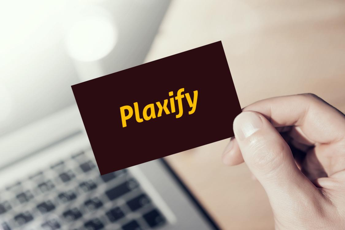 Sample branding #3 for Plaxify