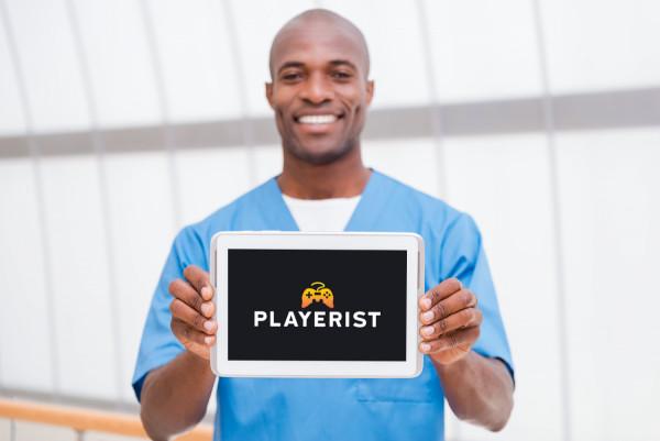 Sample branding #3 for Playerist