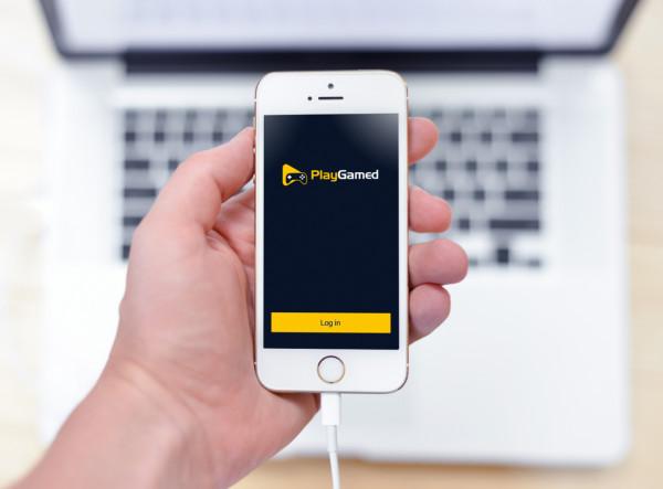 Sample branding #1 for Playgamed