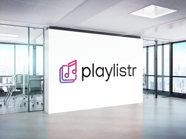 Sample branding #3 for Playlistr