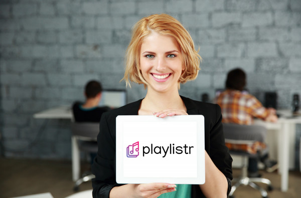 Sample branding #2 for Playlistr