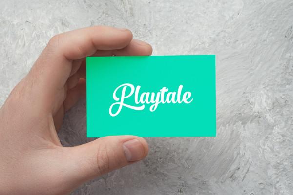 Sample branding #2 for Playtale