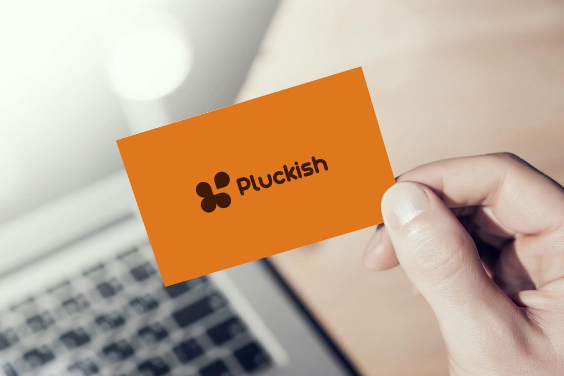 Sample branding #1 for Pluckish