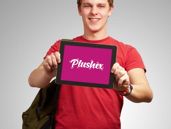 Sample branding #2 for Plushex