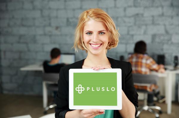 Sample branding #2 for Pluslo