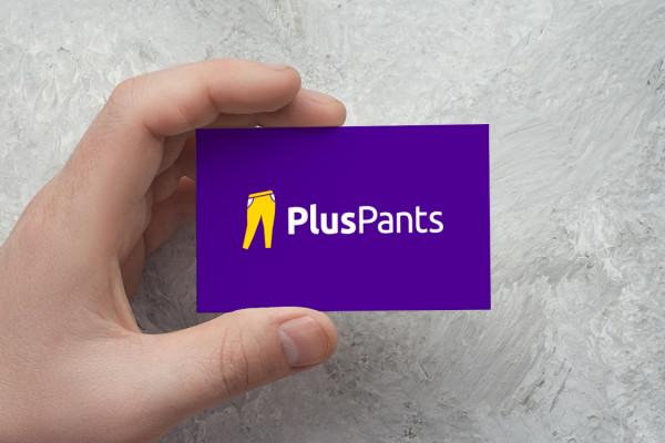 Sample branding #2 for Pluspants