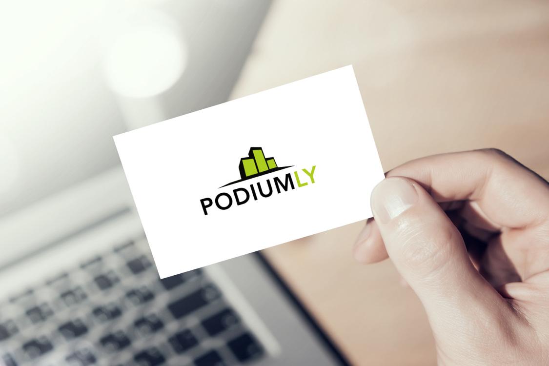 Sample branding #3 for Podiumly