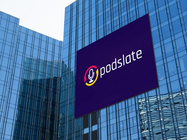 Sample branding #2 for Podslate