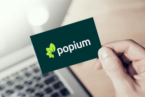 Sample branding #3 for Popium