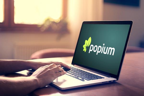 Sample branding #2 for Popium