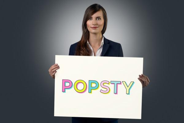 Sample branding #2 for Popsty