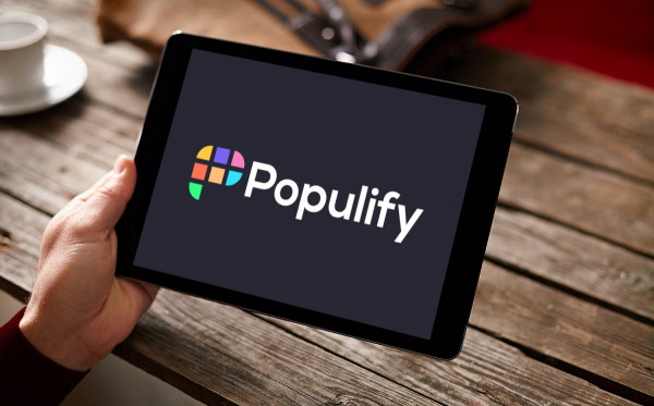 Sample branding #2 for Populify